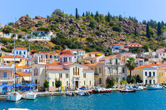 Poros island, Greece Stock Photos