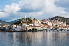 Poros Island, Greece. Greece, photo of the port of Poros island Royalty Free Stock Photography