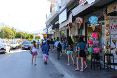Poros island , Greece Stock Photo