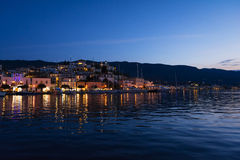 Poros island Royalty Free Stock Images