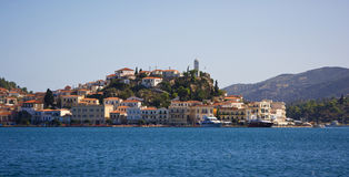 Poros island Royalty Free Stock Photos