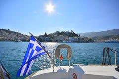 Poros Island Stock Image