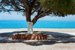 Poros Port, Kefalonia, Greece Royalty Free Stock Photography