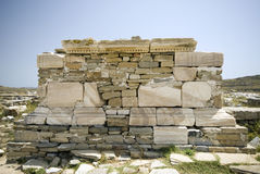 Poros temple delos Stock Photography