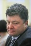 Poroshenko portrait Stock Photography