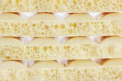 Porous chocolate Royalty Free Stock Image