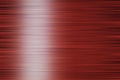 Porowaty czerwony tło - biała linia na lewicie Zdjęcia Royalty Free