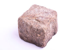 Porphyry cube Stock Image