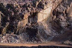 Porphyry quarry stock photography