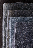 Porphyry slabs Stock Image