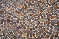 Porphyry Stone Floor - Sanpietrini or sampietrini Stock Photos