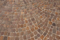 Porphyry Stone Floor - Sanpietrini or sampietrini Royalty Free Stock Photography