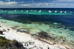 Porpoise bay. Rottnest Island. Western Australia. Australia. Rottnest Island is an island off the coast of Western Australia, located 18 kilometres west of Royalty Free Stock Photos