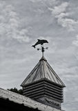 Porpoise Weathervane at Dusk Royalty Free Stock Photo