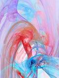 Porpora, azzurri e colori rosa Fotografia Stock Libera da Diritti