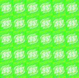 Porpora bianca verde intenso del modello complesso senza cuciture regolare Fotografia Stock Libera da Diritti