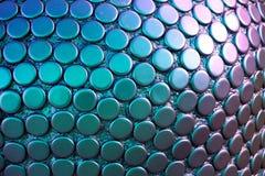 Porpora colorata intorno ai punti nel modello Immagini Stock
