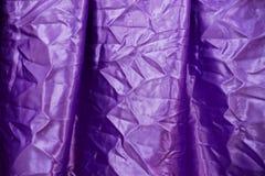 porpora del tessuto Fotografia Stock
