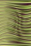 Porpora della curva e Linea Verde d'ondeggiamento priorità bassa Immagine Stock Libera da Diritti