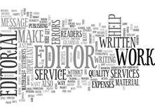 Porqué sea los servicios del editorial importantes redactan la nube Fotografía de archivo