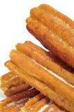 Porras tjocka churros som är typiska av Spanien Royaltyfria Foton