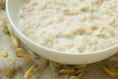 Porridge Royalty Free Stock Photo