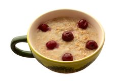 Porridge_ Stock Photo