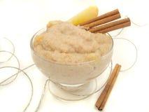 Porridge. Tasty, warm oatmeal Stock Images