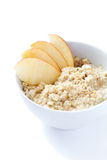 Porridge with apple Royalty Free Stock Photos