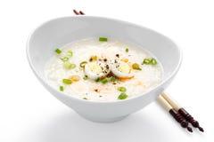 Porridge asiatico del riso Fotografia Stock Libera da Diritti