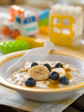 Porridge for baby Royalty Free Stock Image