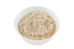 Porridge in the bowl Stock Photos