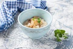 Porridge in a bowl Stock Photos