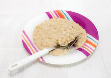 Porridge for breakfast Royalty Free Stock Photography