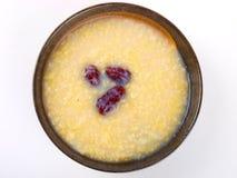 Porridge cinese del miglio Immagini Stock