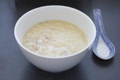 Porridge cinese del riso Fotografia Stock Libera da Diritti