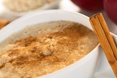 Porridge with Cinnamon Stock Images
