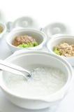 Porridge in ciotola per il paziente Fotografia Stock