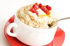 Porridge close-up royalty free stock photo