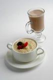 Porridge con le bacche Fotografie Stock