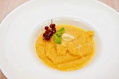 Porridge del cereale Fotografie Stock Libere da Diritti