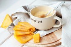 Porridge del grano con la zucca Immagini Stock