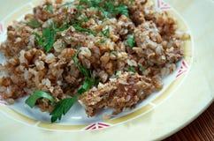 Porridge del grano saraceno Fotografia Stock Libera da Diritti