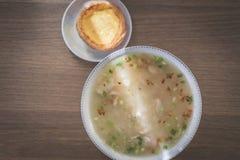 Porridge del pollo Fotografia Stock Libera da Diritti