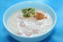 Porridge del riso Fotografie Stock Libere da Diritti