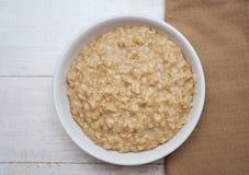 Porridge dell'avena Fotografia Stock Libera da Diritti