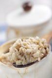 Porridge dell'orzo perlato Fotografia Stock Libera da Diritti