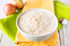 Porridge della farina d'avena Fotografie Stock Libere da Diritti
