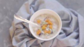 Porridge della farina d'avena Alimento sano