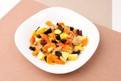 Porridge della frutta Fotografie Stock